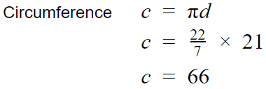 Circumference example math