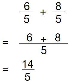 improper fraction addition 1