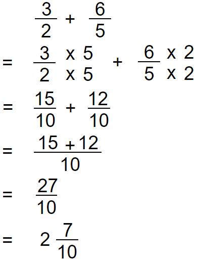 improper fraction addition 3