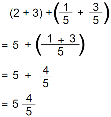 mixed number addition 2