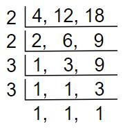 find lcm method 3.3