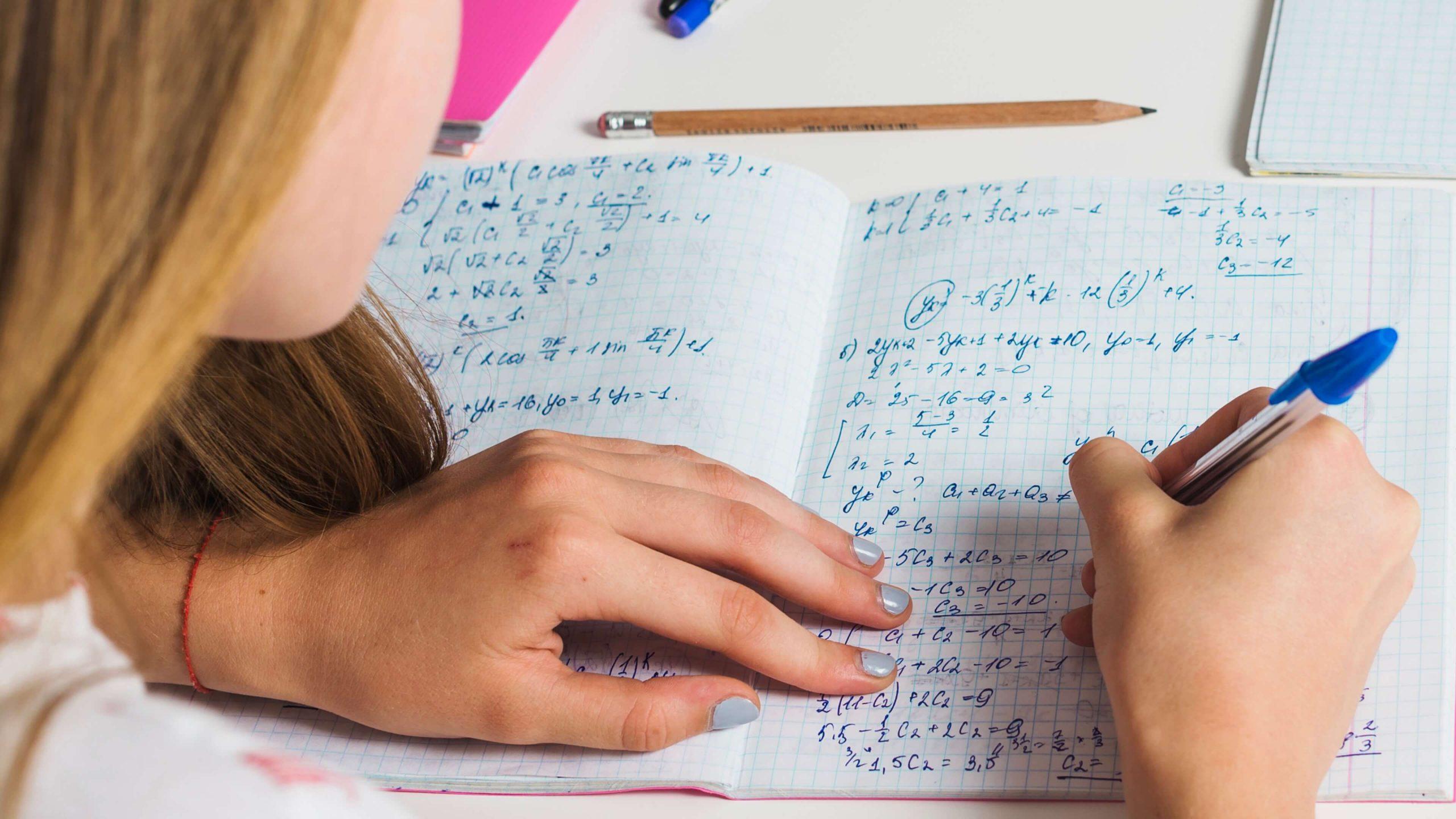 Improve math skills with practice