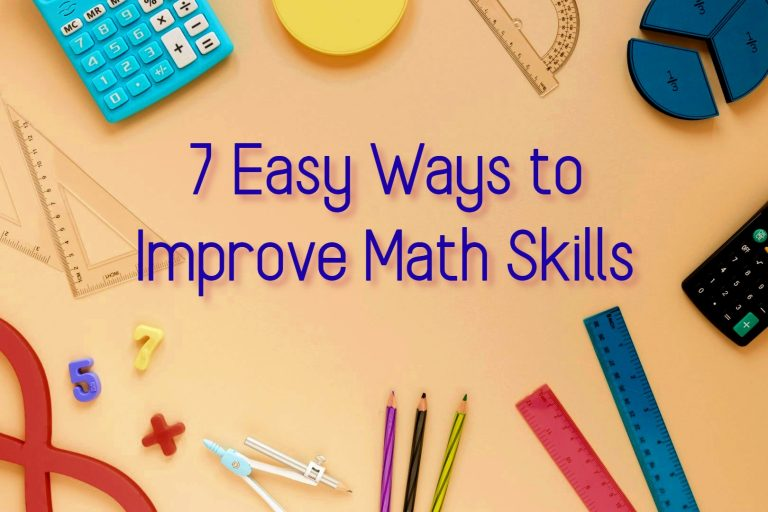 How to Improve Math Skills