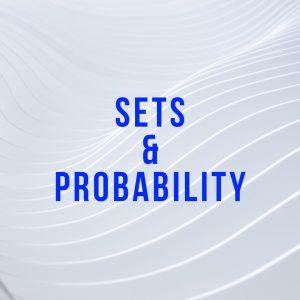 sets and probability math tutor