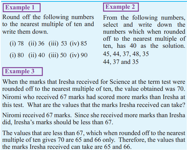 rounding off examples