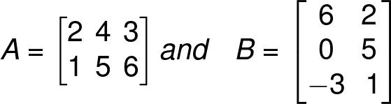 multiply matrix by matrix