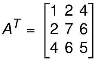 properties of symmetric matrices
