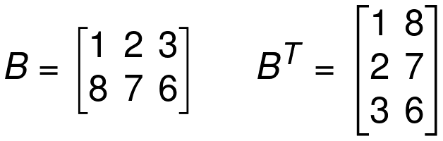 transpose matrix