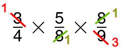 fractions remove common factors