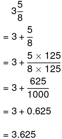 converting mixed numbers to decimals example 4