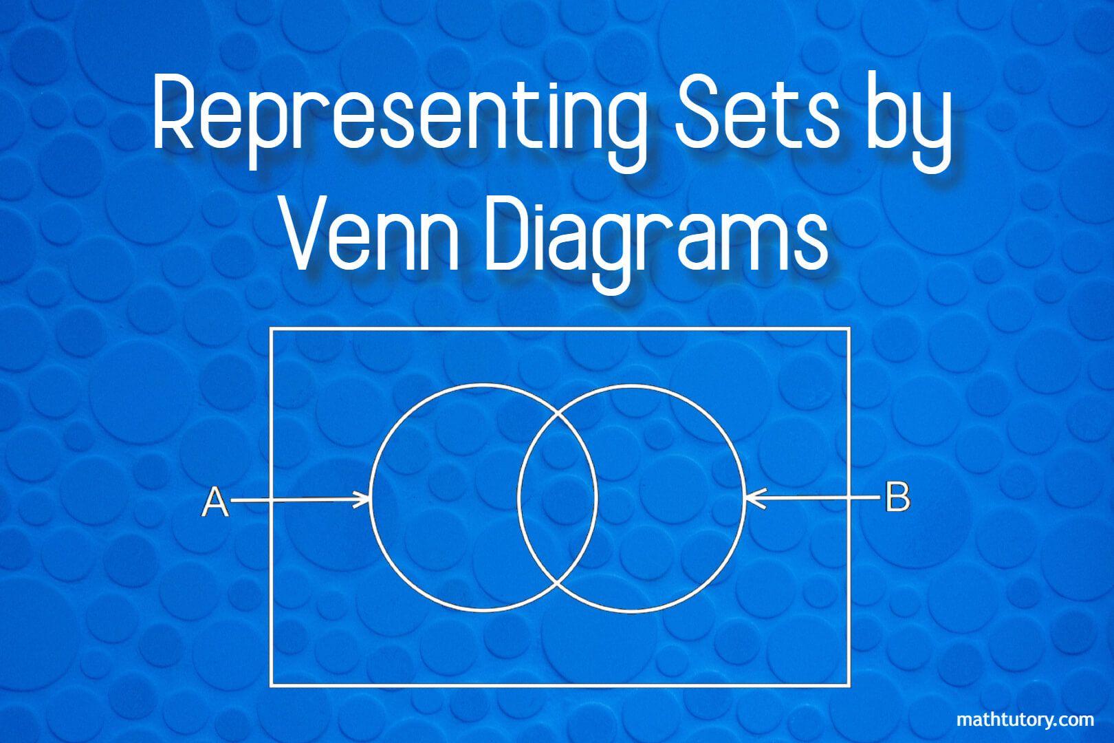 Representing Sets by Venn Diagrams