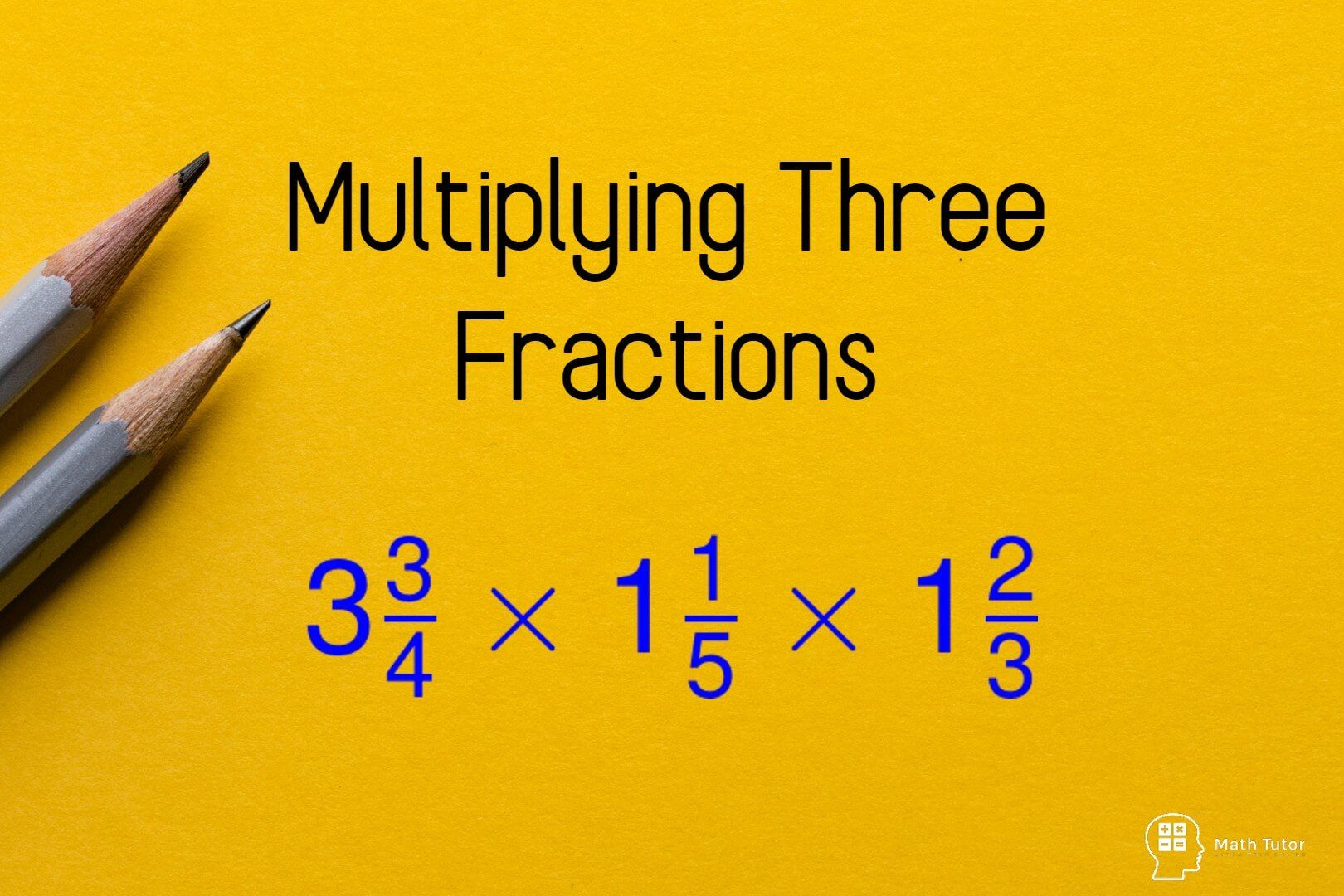 multiplying three fractions